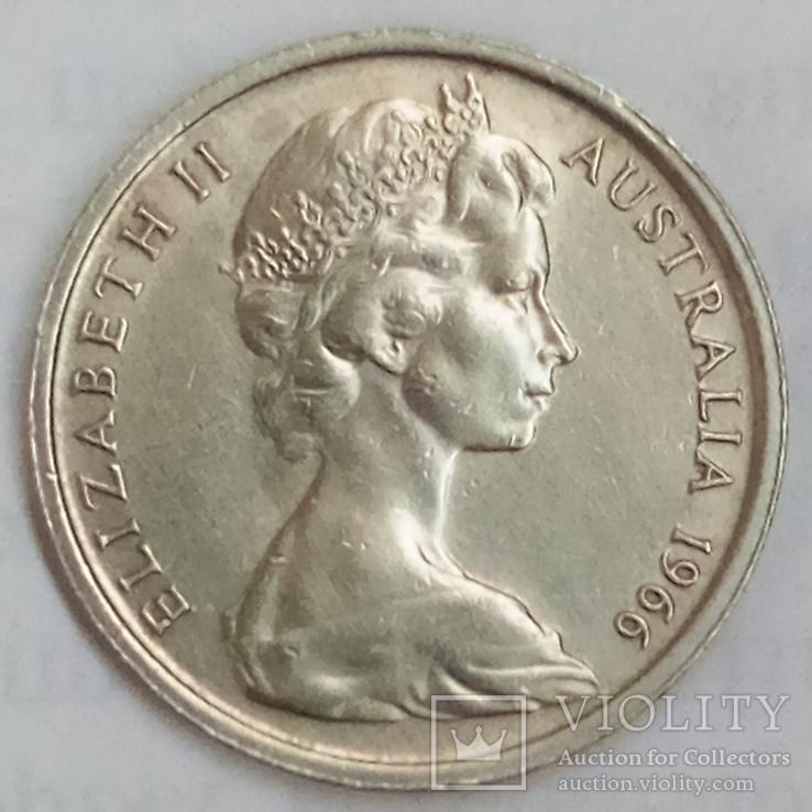 10 центов 1966 г. Австралия, фото №3