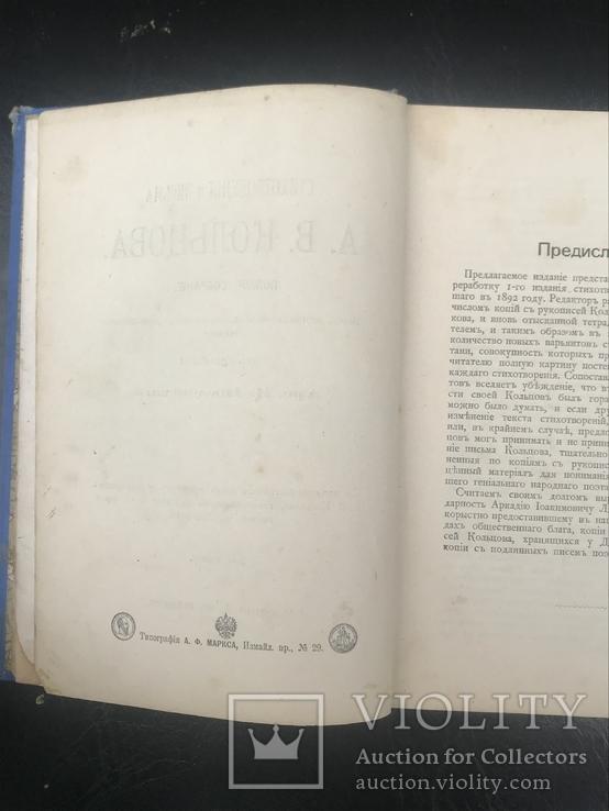 Кольцов А.В. Стихотворения и письма 1901 год, фото №5