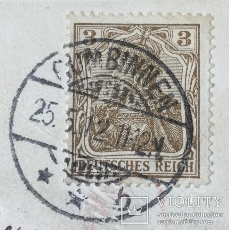 Открытка поздравительная немецкий рейх, фото №4