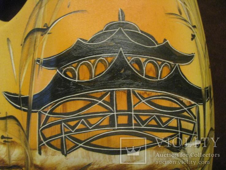 Декоративная ваза для икебаны - высота 30 см., фото №3