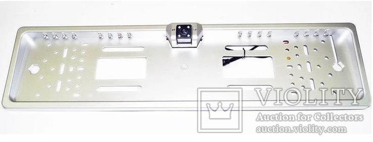 Рамка для номеров с камерой заднего вида, фото №2
