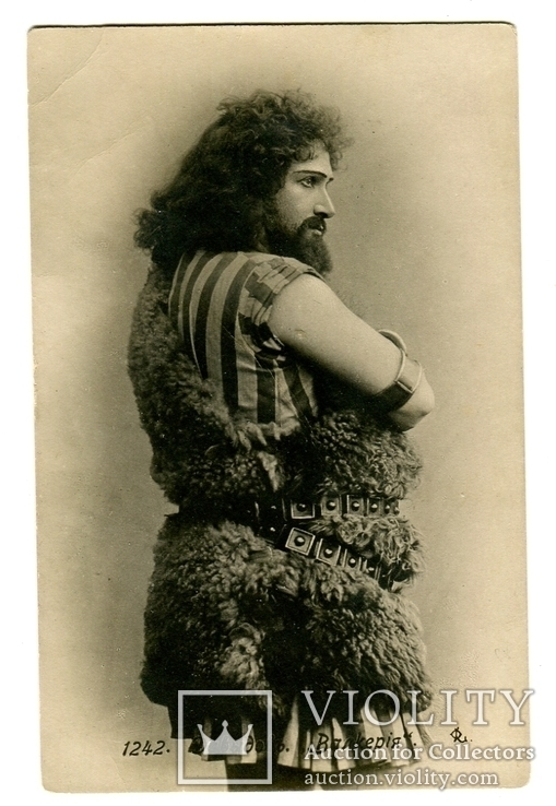 Полтавский оперный певец Давыдов АМ Полтава губ.