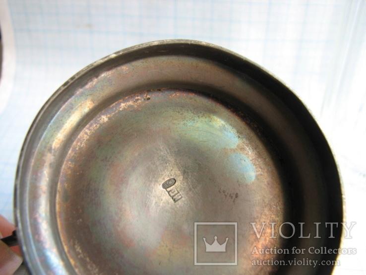 Подстаканник  серебро 84пр.   вес - 100г, фото №9