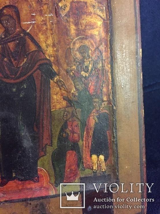 Икона «Всем Скорбящим Радость», фото №10