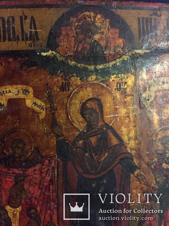 Икона «Всем Скорбящим Радость», фото №11