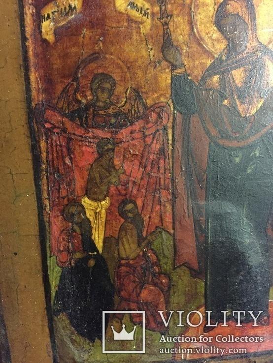 Икона «Всем Скорбящим Радость», фото №12