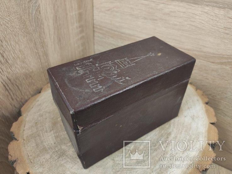 Коробка от фотоаппарата Зоркий., фото №2