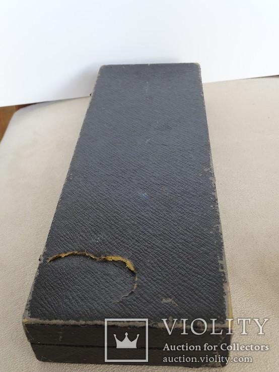 Набор вилок в футляре. Серебро, латунь., фото №6