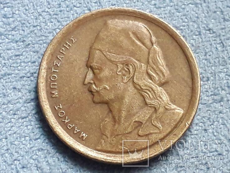 Греция 50 лепт 1976 года, фото №3