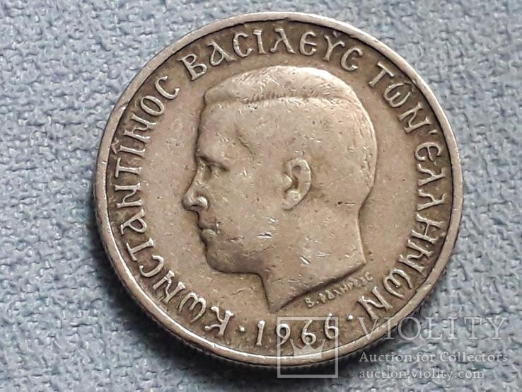 Греция 1 драхма 1966 года, фото №3