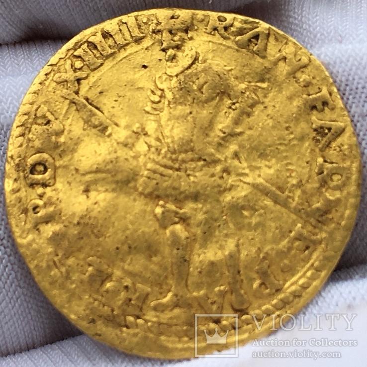 Дукат 1603 года LS Парма Италия, фото №2