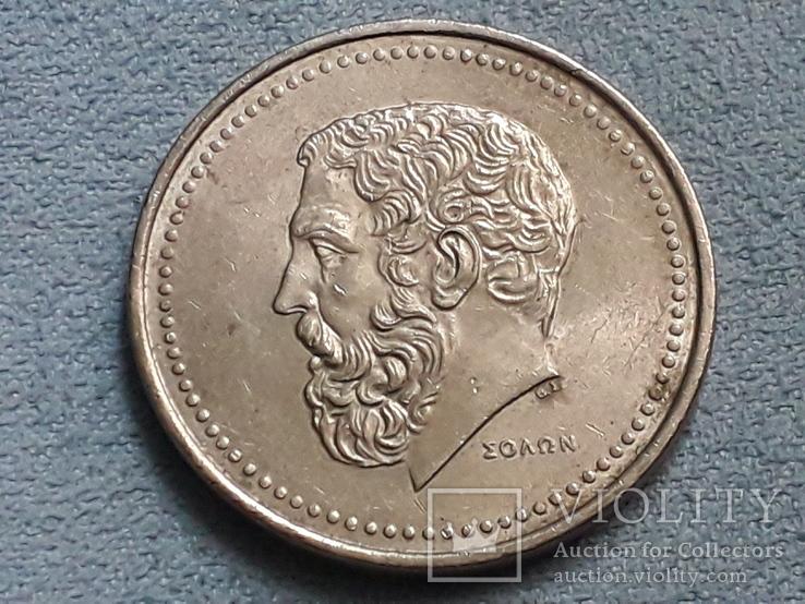 Греция 50 драхм 1982 года, фото №3