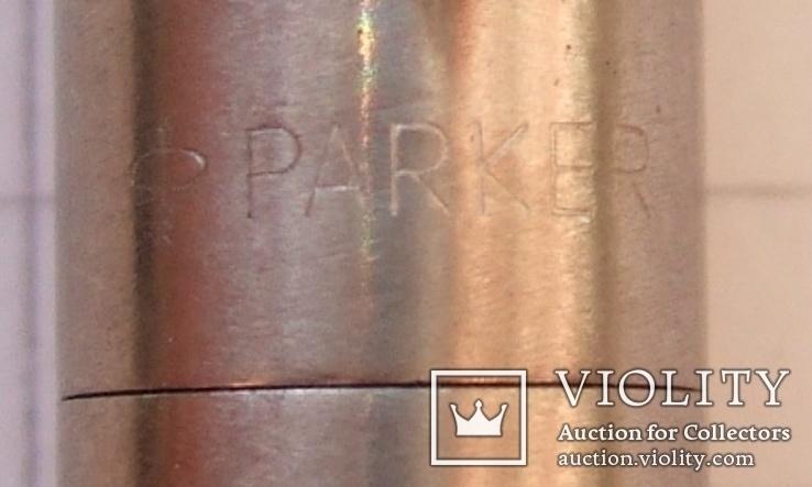 Новая перьевая ручка Parker Vector Flighter, made in USA. Перо F. Оригинал. Пишет мягко, фото №9