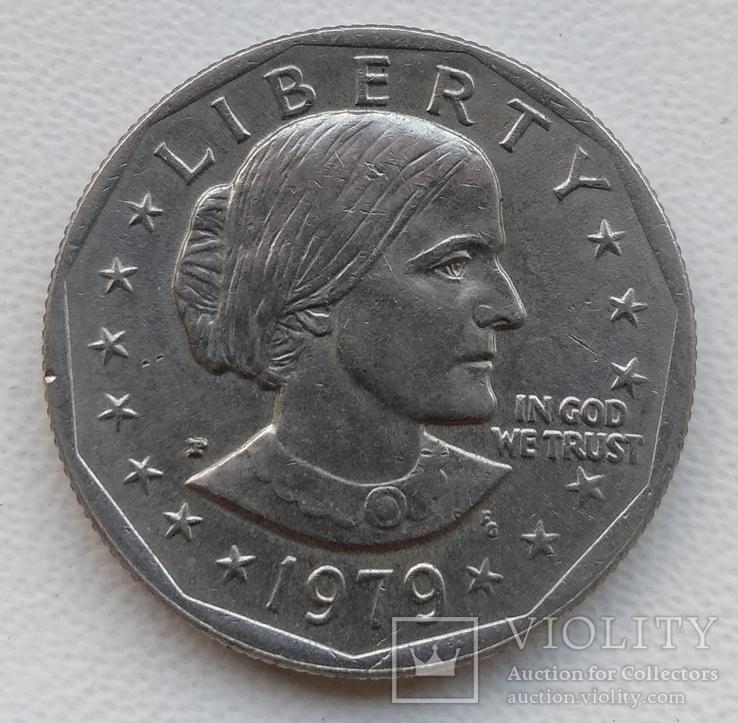 1 доллар США 1979 г, фото №2