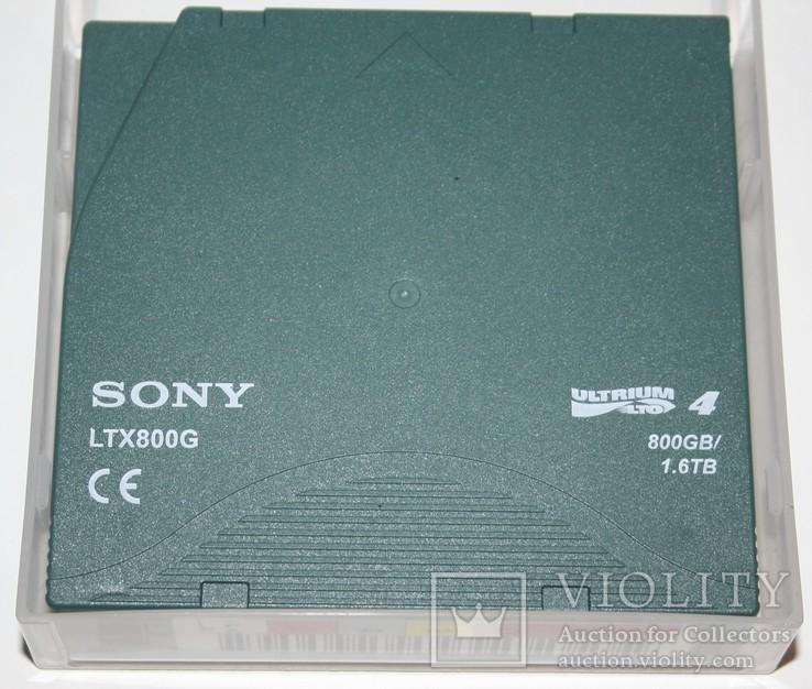 Летночный картридж для стримера Sony LTX800G 800Gb/1,6Tb (формат LTO Ultrium 4), фото №7