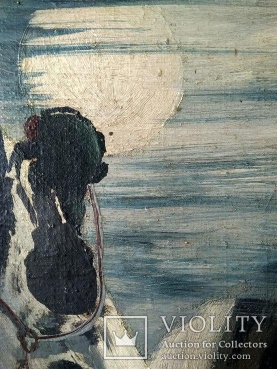 """Картина """"Ночное восхождение"""", фото №4"""