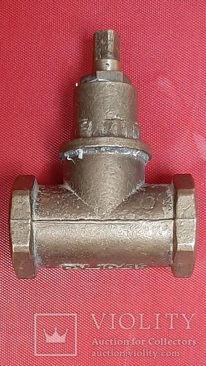 Кран латунный водяной, 3 шт, СССР, фото №11