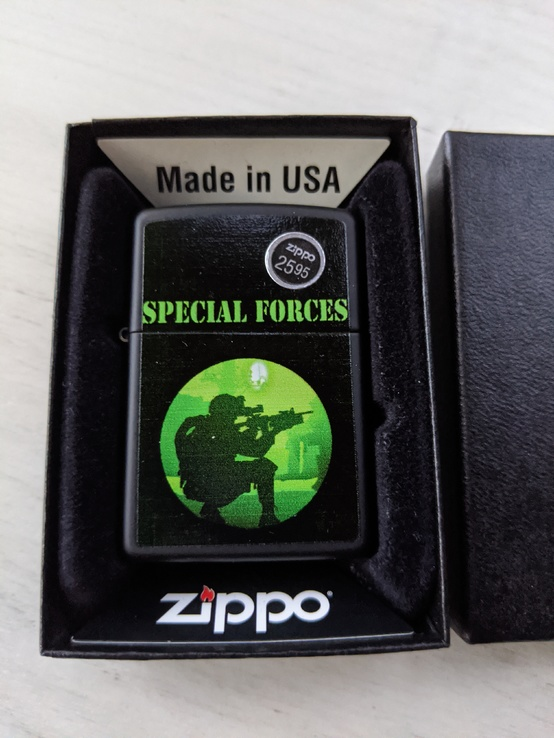 Зажигалка Zippo Lighter - Special Forces(оригинал)