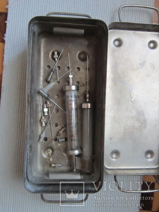 Стерилизатор для шприцев ссср, фото №3