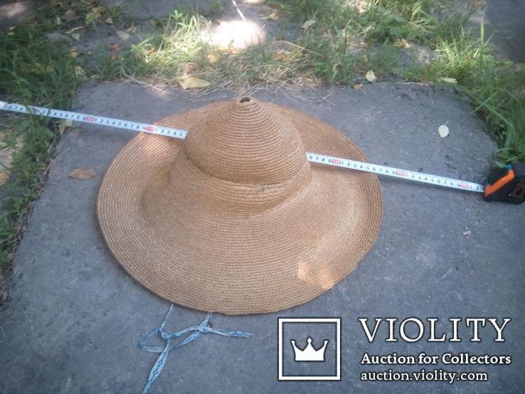Соломенная шляпа-Брыль, фото №2
