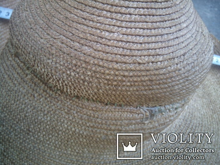 Соломенная шляпа-Брыль, фото №3
