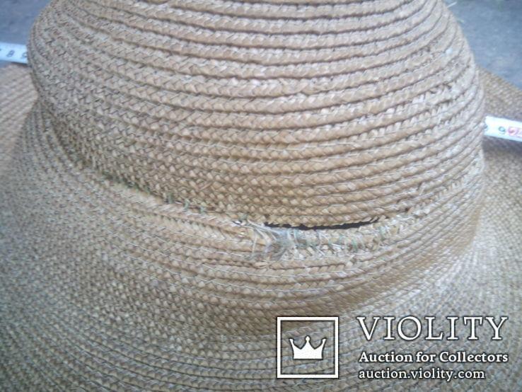 Соломенная шляпа-Брыль, фото №4
