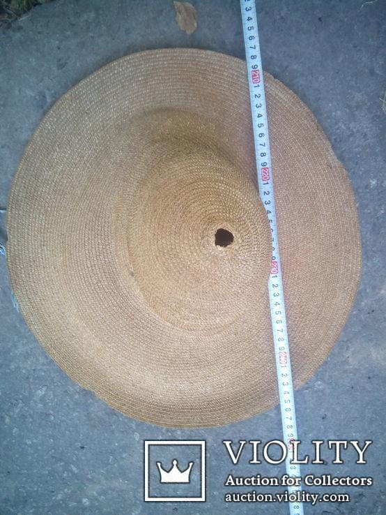 Соломенная шляпа-Брыль, фото №5