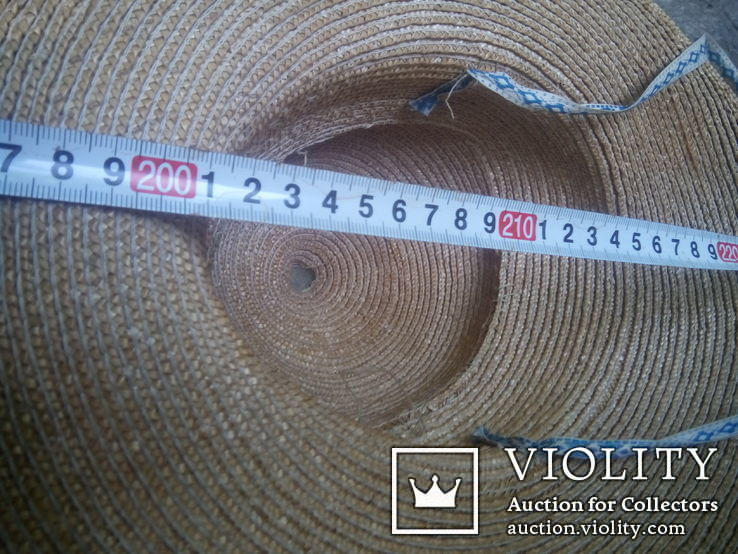 Соломенная шляпа-Брыль, фото №6