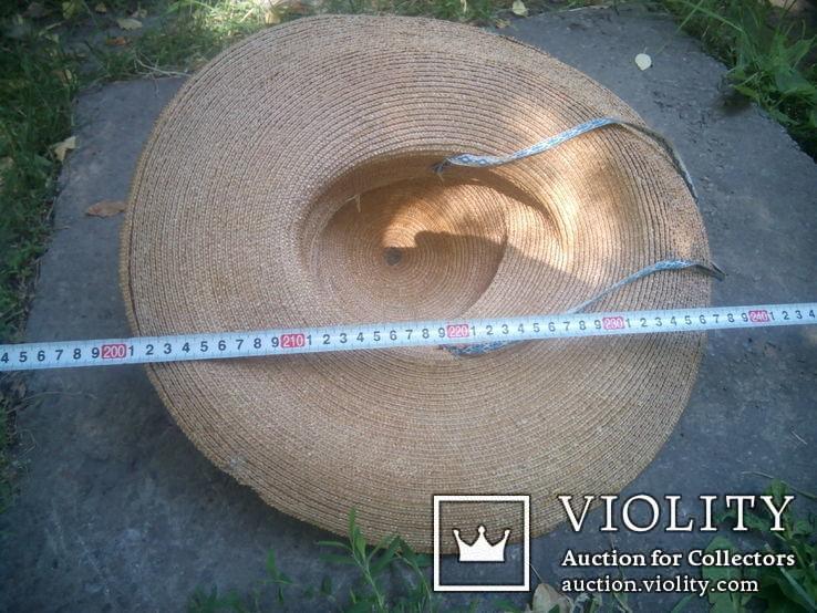 Соломенная шляпа-Брыль, фото №7