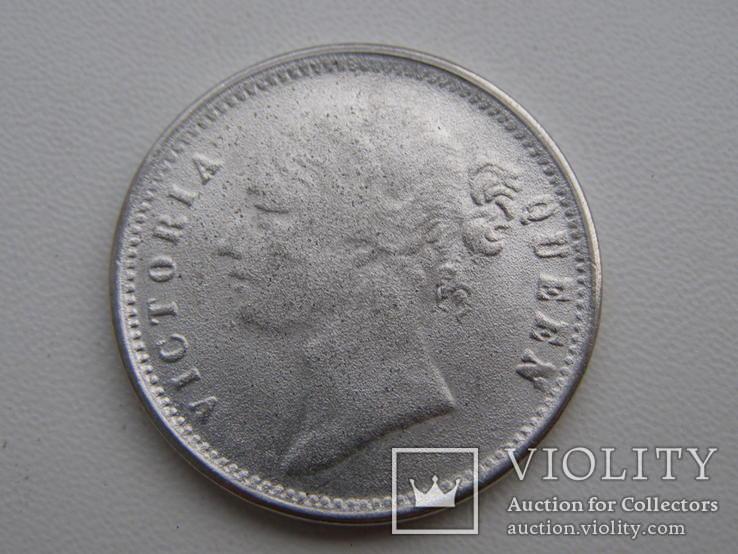 Одна рупия 1840 г. копия, фото №3