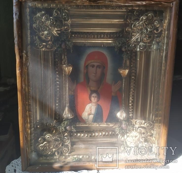 Икона Божьей матери Знамение, фото №2