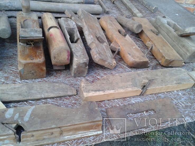 Набір старих столярних інструментів., фото №8