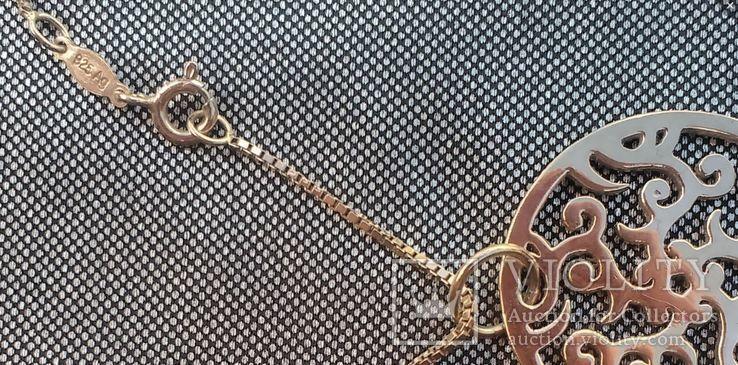 Phantasya серебро позолота. 6,6 грм, фото №11