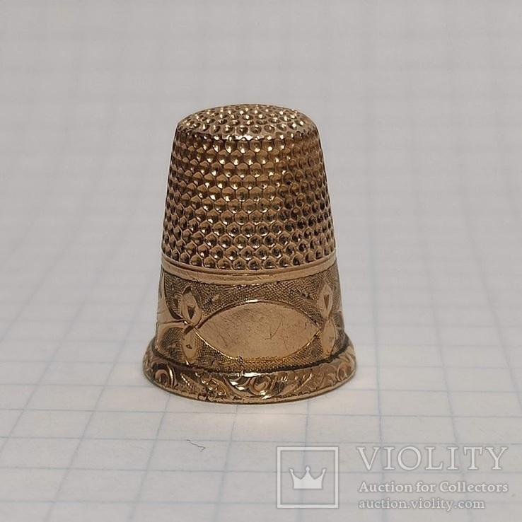 Золотой наперток (9к), фото №2