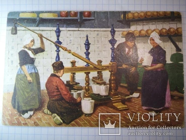 Открытка Голландия 1913, фото №4