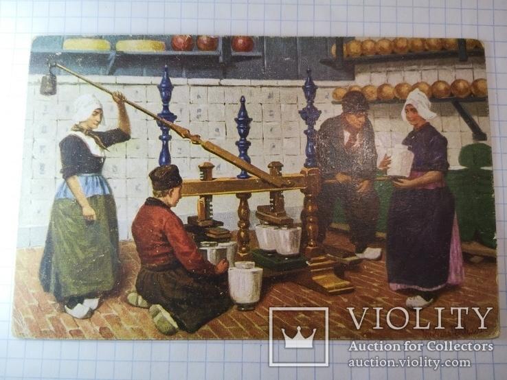 Открытка Голландия 1913, фото №10