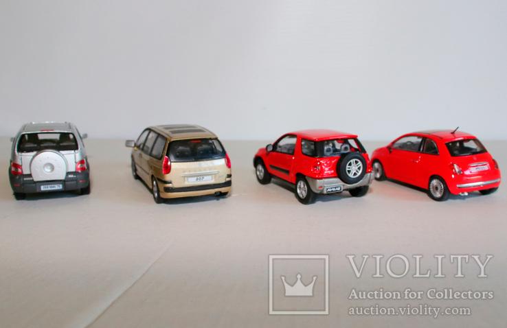 Модели Cararama/Howgwel (Renault, Fiat, Peugeot, Toyota), фото №4