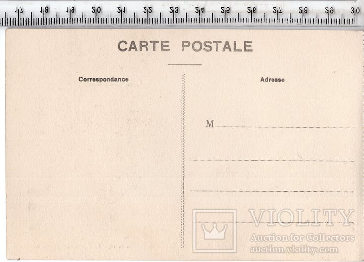 Первая мировая. Франция, Бельгия. Агитационная открытка.(3), фото №3