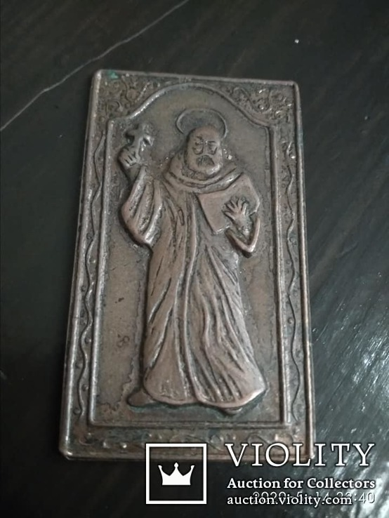 Иконка. Неизвестный святой, фото №2