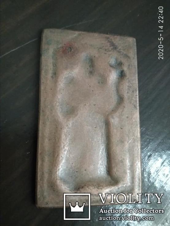 Иконка. Неизвестный святой, фото №3