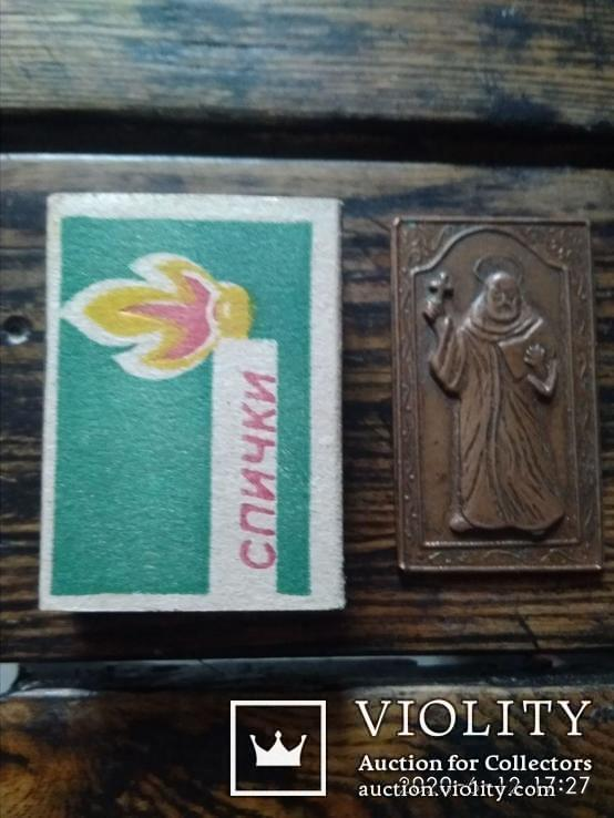 Иконка. Неизвестный святой, фото №4