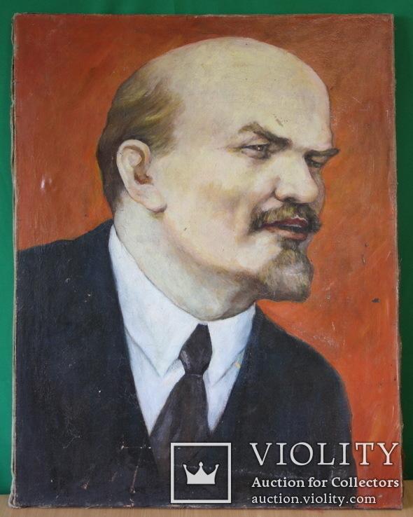 Ленин  90х70, фото №2