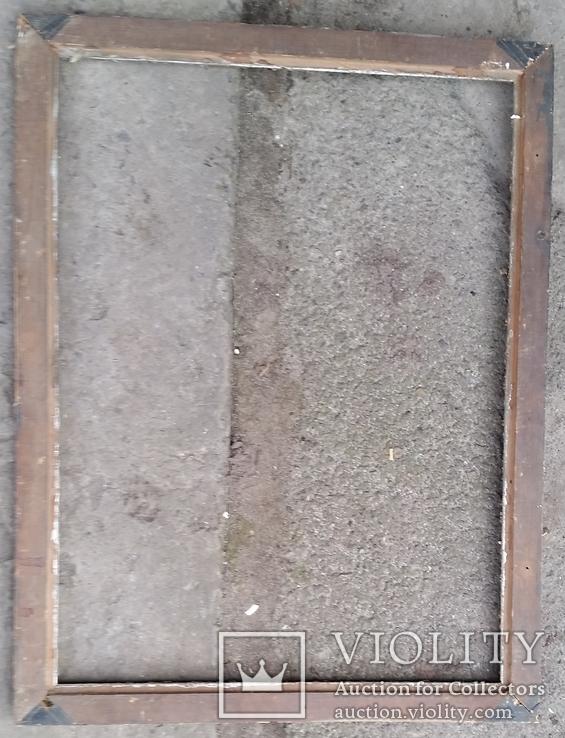 Стара рама багетна 73,2х55,8, фото №6