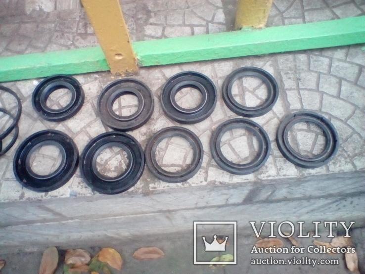 Сальники разные на Газ-21, 9 шт., диаметры прописаны в описании., фото №2