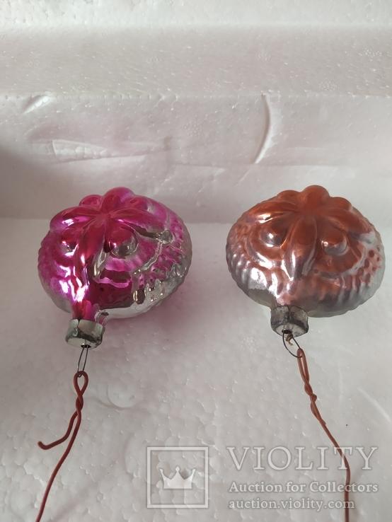 Две игрушки с выпуклым  ресунком, фото №3