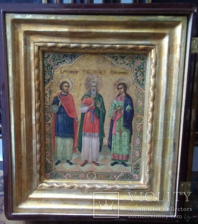 Икона Гурий, Симон, Авив. Хранители домашнего очага.