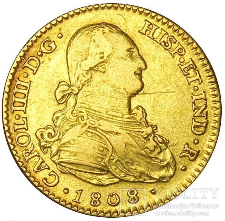 2 Эскудо 1808, Испания