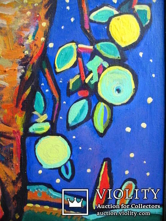 Місячна ніч, полотно, аркил, 85Х75. Солодовников И., фото №4