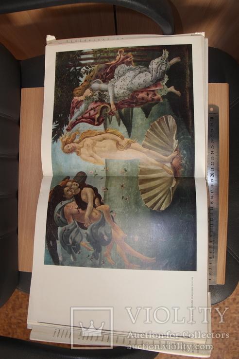 """Галерея Уффици-огромный альбом из серии""""Музеи мира"""", фото №7"""