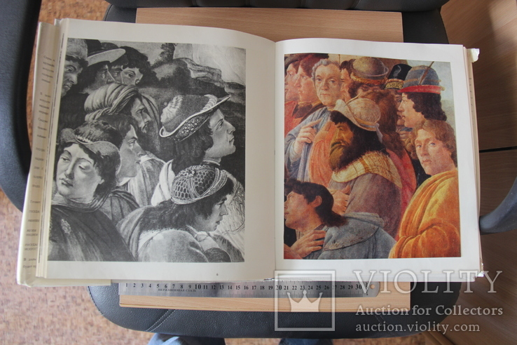"""Галерея Уффици-огромный альбом из серии""""Музеи мира"""", фото №13"""